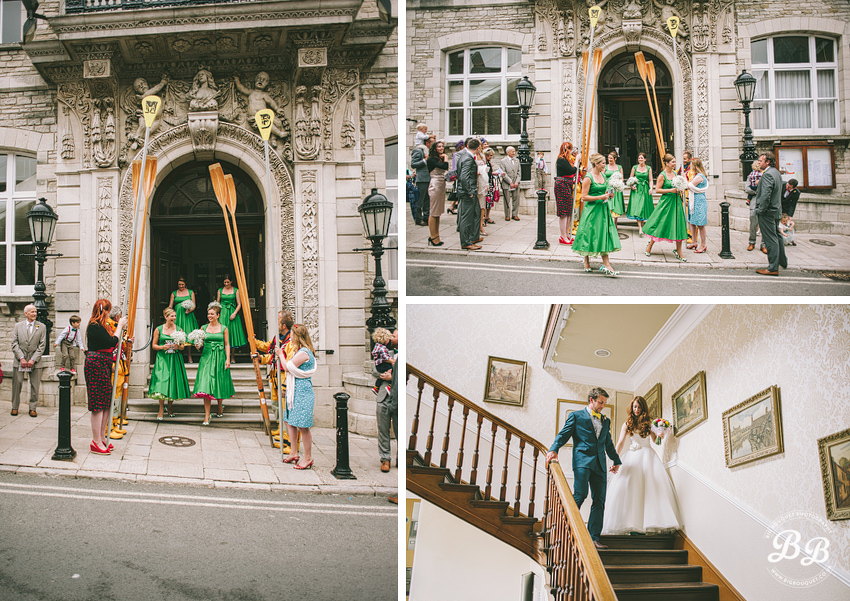 Becky + Matt's Wedding at Swanage Town Hall - Part One Wedding Photography