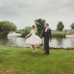 Becky and Sam's Wedding at Lady St Mary Church and Wareham Rugby Club