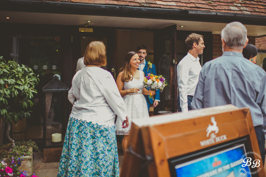 018-threetunsbuck - Stephanie & Patrick's Wedding at The Three Tuns Inn, Dorset - Wedding Photography